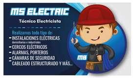Tecnico electricista, electronico y chofer profesional licencia tipo C