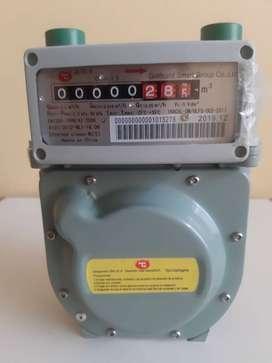 medidor de gas natural  residencial  goldcard G1.6