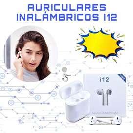 Auriculares Inalambricos i12