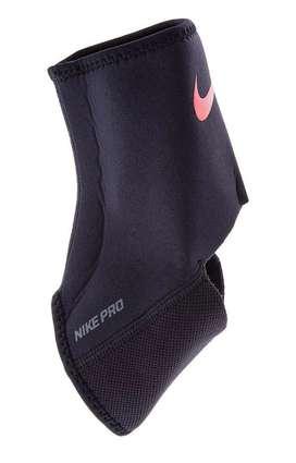 Soporte para tobillo nike negro ( ankle sleeve 2.0 )