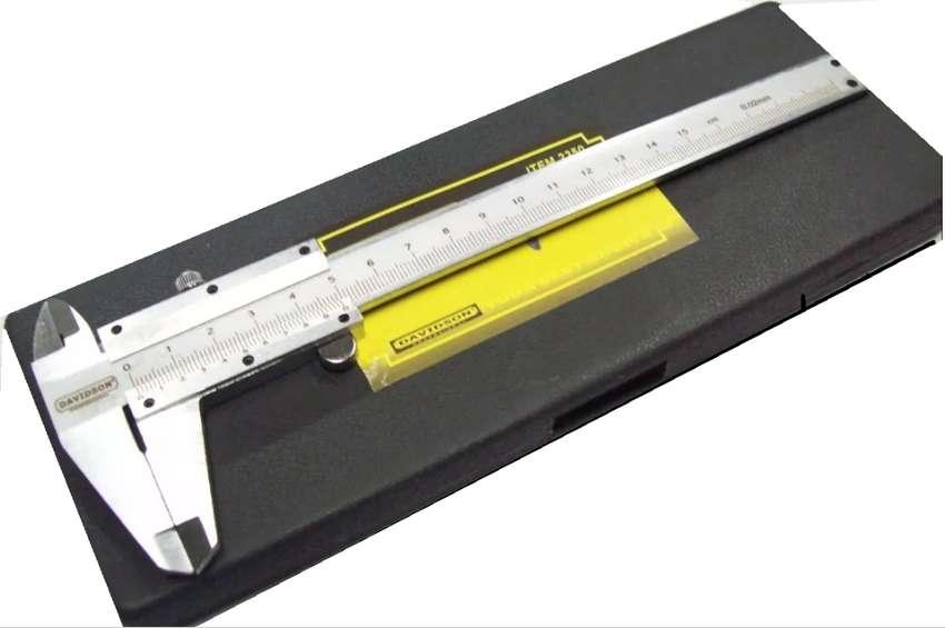 Calibre Mecánico Decimal Acero 0-150 Mm Davidson 0