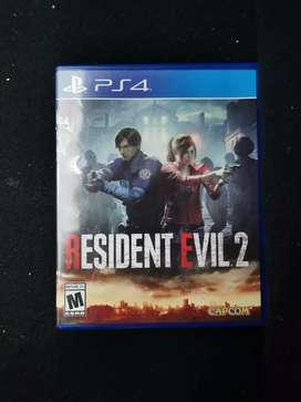 Se vende juego play 4 residen evil 2 $ 95.000