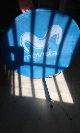 Antena Parabólica Movistar