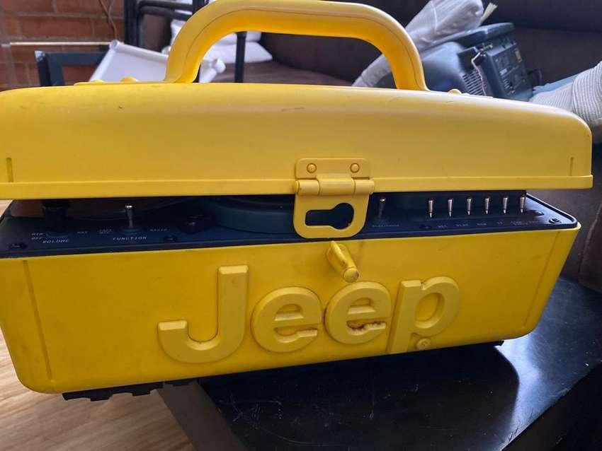 Grabadora jeep