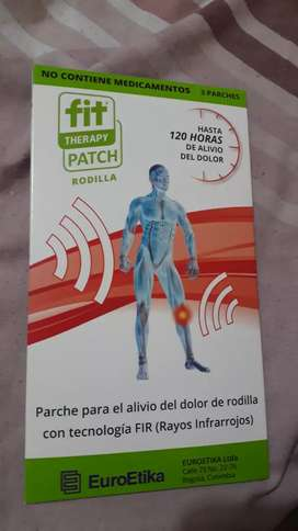 Fit terapy  patch rodilla X  9 Unds