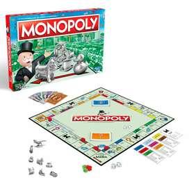 Monopoly Clásico con Tokens, Original de  Hasbro