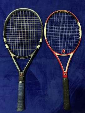 Raquetas de tenis y bolso profesional!