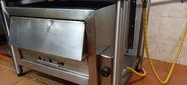 Congelador vertical y horno industrial acero inoxidable económico