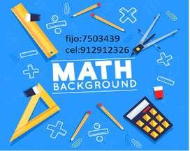 Asesoria en Matemáticas