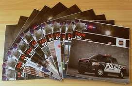 Lote 11 Fasciculos Autos Policia