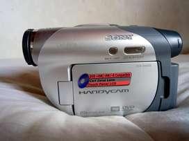 camara de video marca sony handy cam