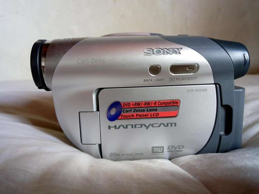 camara de video marca sony handy cam 0