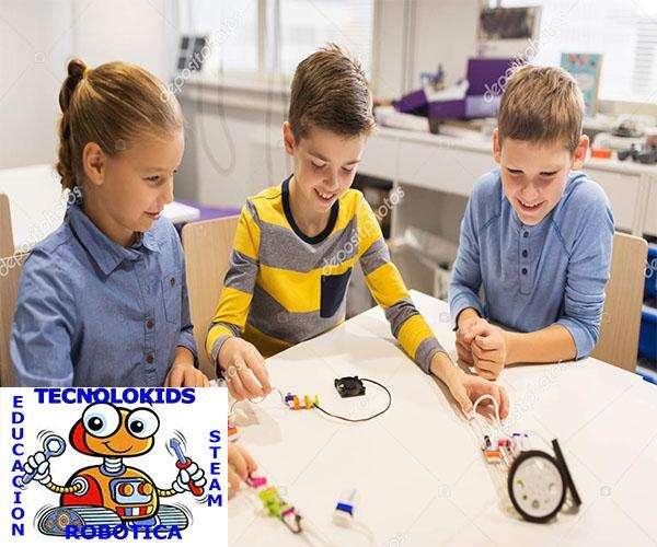 CURSOS DE ROBOTICA EDUCATIVA STEAM 2018 0