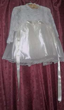 vestido de bautismo