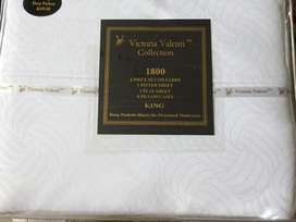 Sabanas cama King 1800 Hilos Americanas