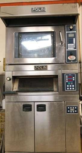 Horno marca Polin - Ventilado Wind (Pan y Pasteleria)