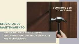 limpieza y mantenimiento de departamentos