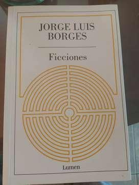 Libro ficciones Jorge Luis Borges