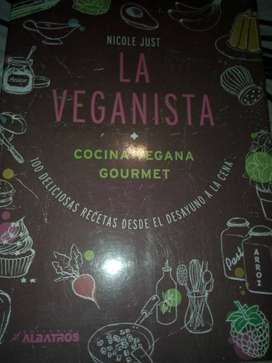 Libro de cocina La veganista