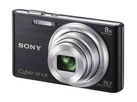 OFERTON! Camara Fotografica Sony Cybershot DSCW730 Negra Memory Card Sony 8Gb Estuche Sony original 29299999