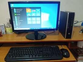 Computador core i5 segunda generacióncon monitor LED de 19 pulgadas