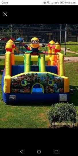 Alquiler de inflables para fiestas infantiles y eventos
