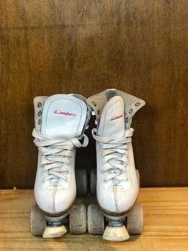 patines artisticos landway con bolso
