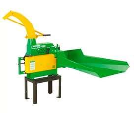 Picapasto ensiladora Trapp sin motor para producción de 7000 kilos hora 3 cuchillas