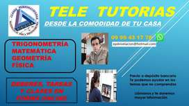 clases online, presencial y a domicilio