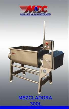 Mezcladora de Carne 140/240/300lts - Acero Inoxidable - Metalurgica Muller y Di Costanzo