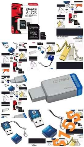 El mejor regalo memorias y pendrives 64 gigas $15 precio normal $25 nuevos de paquete originales garantía