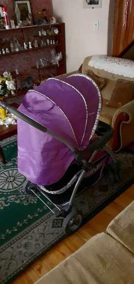 Coche y silla de bebé