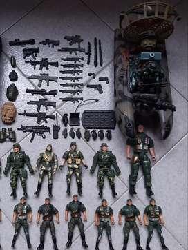 Set Equipo Militar de juguete para niños