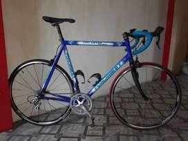 Bicicleta Italiana aluminio carbono