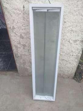 Ventiluz 1 metro x 26 aluminio con mosquitero
