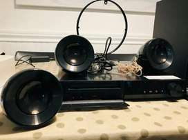 Home Theatre LG Con Reproductor Dvd 5.1  Dh4222s Impecable