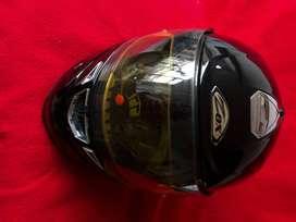 Casco para moto talla S -ZOX modelo corsar negro - sin placa - usado