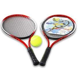Juego de raquetas niños niñas