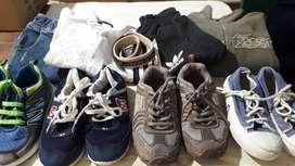 BARATO combo de ropa y zapatillas para niño 5-6 años
