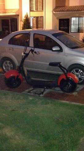 Vendo scooter eléctrico casi nuevo
