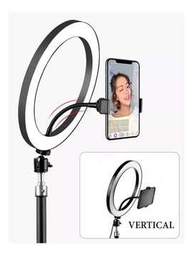 Aro De Luz Led 30 Cm C/ Soporte Para Celular - Foto Selfie