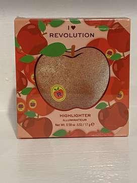 Iluminador con olor a manzana