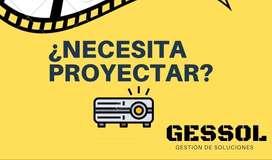 Alquiler de Video Beam / Proyector