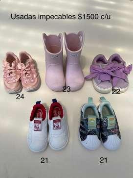 Zapatillas y botas originales, excelente estado