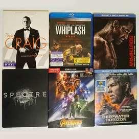 Remato colección 19 películas bluray (originales)