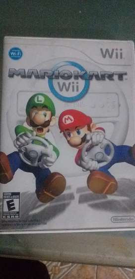 Nintendo wii juego MarioKart