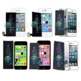 Bateria Iphone 4 4g 4s 5 5g 5s 5c Sin Instalacion