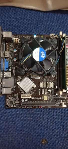 Board h61 core i3 HDMI