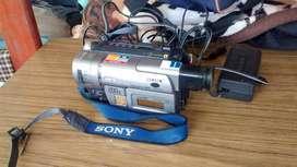 Videofilmadora sony
