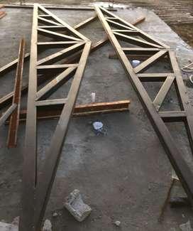 Cabreadas Estructural de 100 X 2Mm Doble